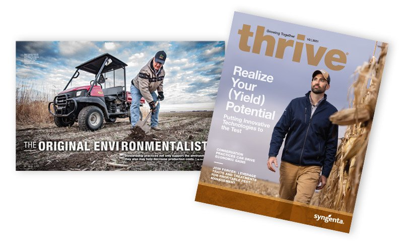 Syngenta Thrive magazine