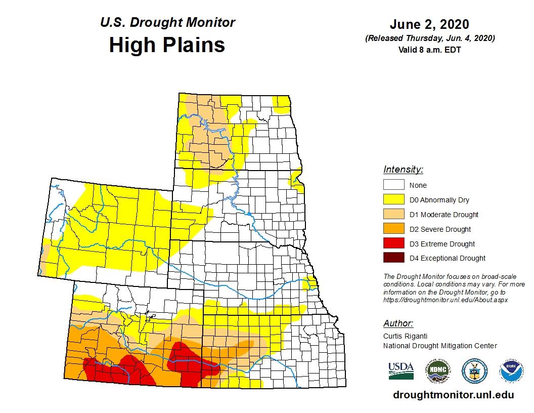 High Plains drought monitor