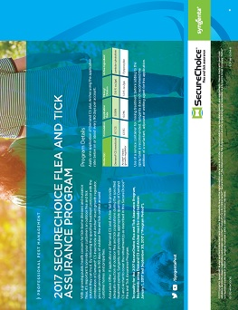 SecureChoice Flea and Tick Assurance Program Sheet