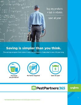 2019 PestPartners 365 Program Sheet