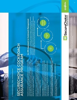 SecureChoice Cockroach Assurance Program Sheet