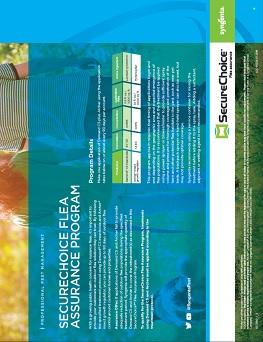 SecureChoice℠ Flea Assurance Program Sheet
