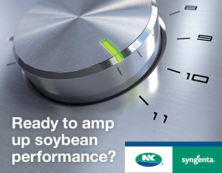 Dial turned up high Copy reads: Ready to amp up soybean performance?