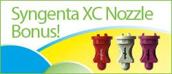 Syngenta XC Nozzle Bonus
