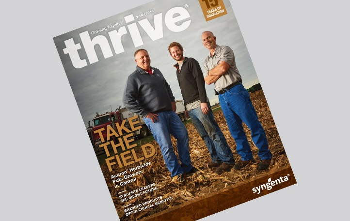 Syngenta Thrive magazine