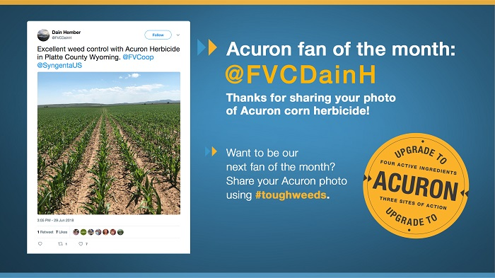 Acuron Fan of the Month