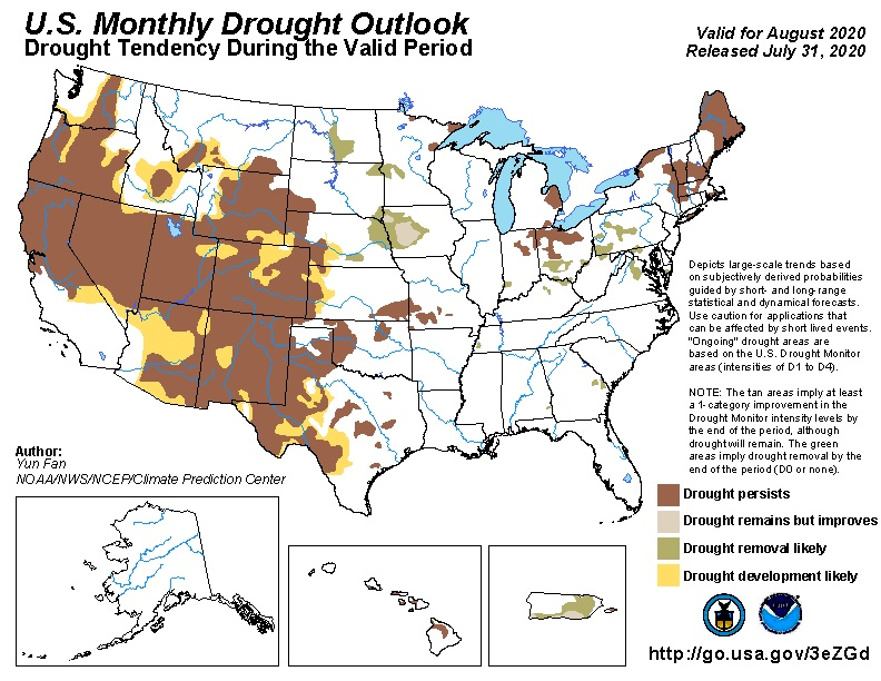 monthly drought monitor