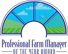 Professional Farm Manager of the Year Award Logo.