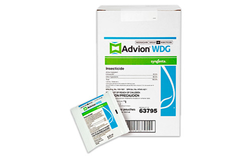 Advion WDG case of 50 0.33-oz. packets