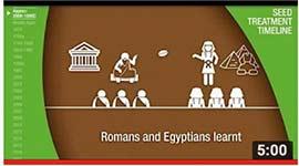 video thumbnail of Frise chronologique du programme Seedcare, de Syngenta