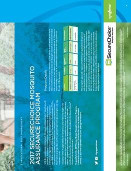 SecureChoice℠ Mosquito Assurance Program Sheet