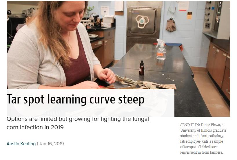Prairie Farmer article