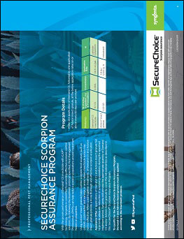 SecureChoice Scorpion Assurance Program Sheet