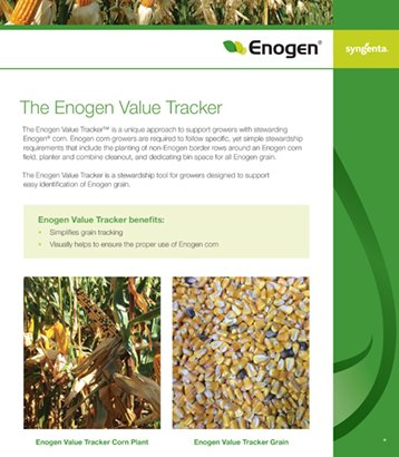 Enogen Value Tracker Sell Sheet