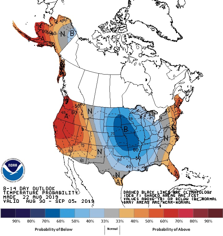 8-10 day outlook